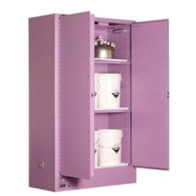 Corrosive Storage Cabinet 250L 2 Door, 3 Shelf