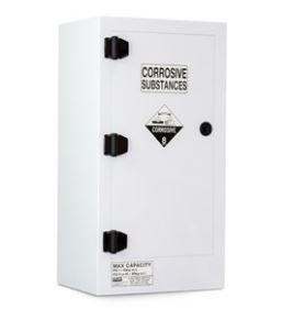 Poly Corrosive Cabinet 80LTR, 1 Door, 2 Shelf