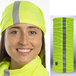 Headsox-403-Hi-Vis Yellow with Reflective strip