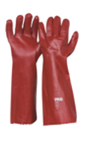 Red PVC Single Dip -Not Chemical Rated