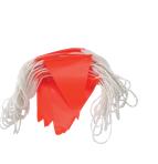 Orange PVC Flag Bunting - Day Use, ORANGE Flags