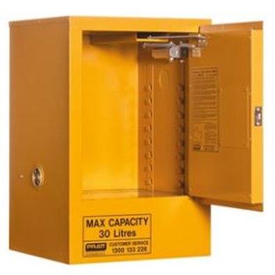 Flammable Storage Cabinet 30L 1 Door, 1 Shelf