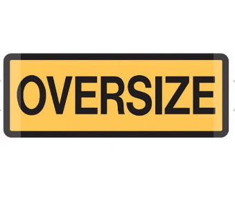 Vehicle/Truck Sign - Oversize