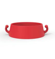 Cone Ring to suit Plastic Chain pack of 10 - Orange ABS Plastic