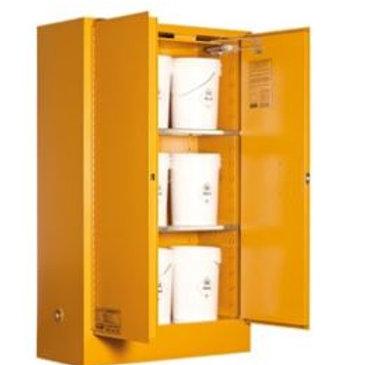 Toxic Storage Cabinet 250L 2 Door, 3 Shelf