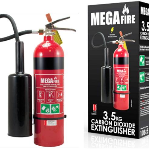 3.5kg CO2 Portable Fire Extinguisher