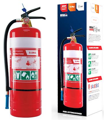 MF9ABE—MegaFire- 9.0kg ABE Portable Fire Extinguisher