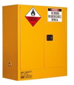 Class 4 Dangerous Goods Storage Cabinet 160L 2 Door,2 Shelf