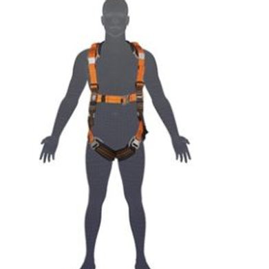 Elite Riggers Harness Stainless Steel - Standard (M - L) cw Harness Bag (NBHAR)