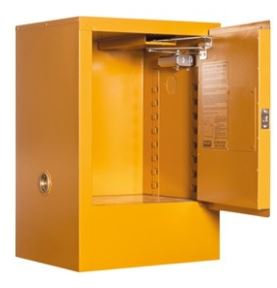 Toxic Storage Cabinet 30L 1 Door, 1 Shelf