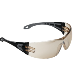 Safety Glasses Brown Tint