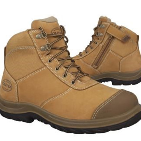 Oliver 34-662 Zip Wheat--Sizes 4-13--Half Sizes from 6.5-10.5