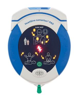 HeartSine SAM 360P Defibrillator WiFi Gateway Bundle