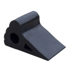 Wheel Chock Moulded Rubber - Large
