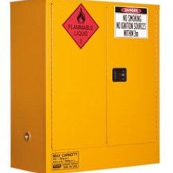 Flammable Storage Cabinet 160L 2 Door, 2 Shelf