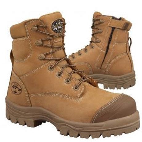 Oliver 45-632Zip Wheat-- Sizes 5-14--Half Sizes from 6.5-10.5