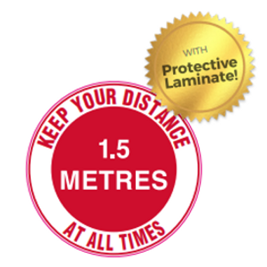 Floor Sign Protective Laminate