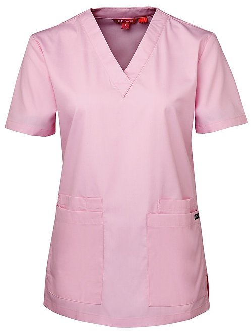4SRT1--JB's Ladies Scrub Top