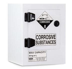 Poly Corrosive Cabinet 20LTR, 1 Door, 1 Shelf