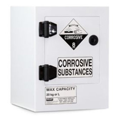 Poly Corrosive Cabinet 20LTR, 1 Door, 1 Shelf
