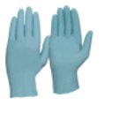 Safety Gloves BLUE Powder Free