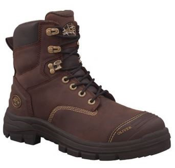 Oliver 55-337 Brown--Sizes 4-14--Half Sizes from 6.5-12.5