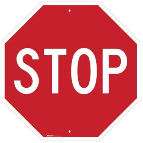 Directional Traffic Sign - Stop