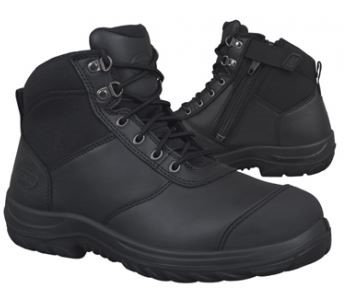 Oliver 34-660Zip Black--Sizes 4-13--Half Sizes from 6.5-10.5