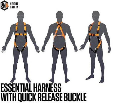 Essential Harness with Quick Release Buckle - Standard (M - L)