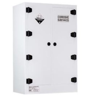 Poly Corrosive Cabinet 250LTR, 2 Door, 6 Shelf