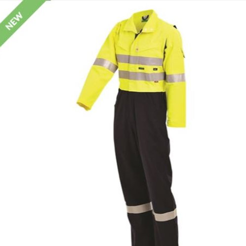 PPE2 FLAREX FR Inherent 215gsm Vented Taped Coverall
