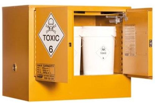 Toxic Storage Cabinet 100L 2 Door, 1 Shelf