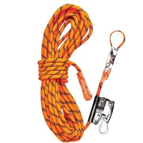 Kernmantle Rope with Thimble Eye & Rope Grab 30M