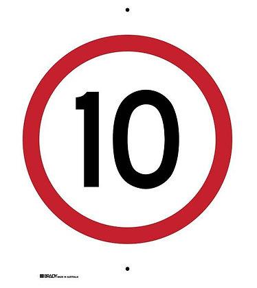 Speed Limit Sign - 10
