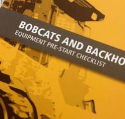 Pre-Start—Bobcats and Backhoes