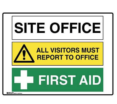 Multiple Message Sign - Site Office