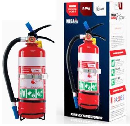 2.0kg ABE Portable Fire Extinguisher