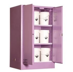 Corrosive Storage Cabinet 425L 2 Door, 3 Shelf