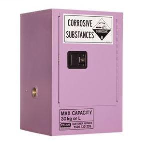 Corrosive Storage Cabinet 30L 1 Door, 1 Shelf