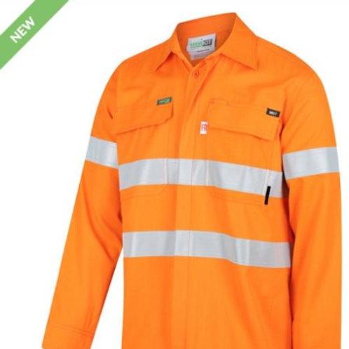 FLAREX RIPSTOP PPE1 FR Inherent 155gsm Lightweight Taped Shirt