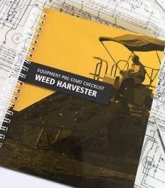 Pre-Start—Weed Harvester