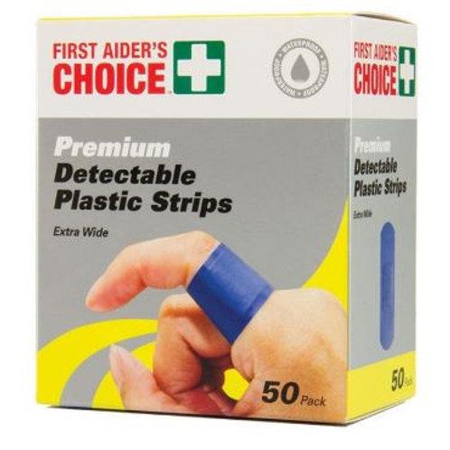 FAC Blue Detect Plastic Strips Pk50