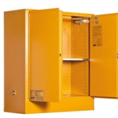Toxic Storage Cabinet 160L 2 Door, 2 Shelf