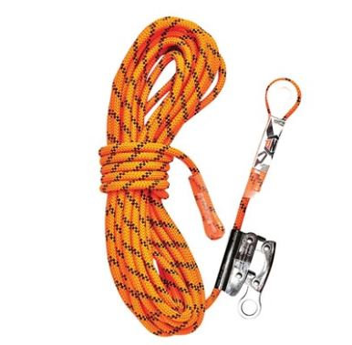 Kernmantle Rope with Thimble Eye & Rope Grab 20M