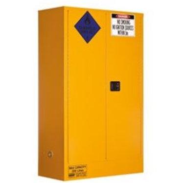 Class 4 Dangerous Goods Storage Cabinet 250L 2 Door,3 Shelf