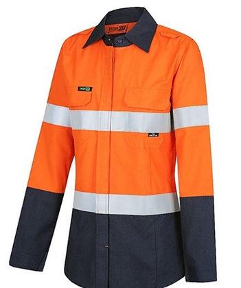 FLAREX PPE1 Womens FR Inherent 155gsm Lightweight Taped Shirt