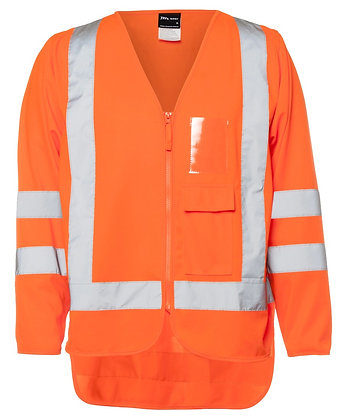 JB's Hi-Vis Biomotion (D+N) Tricot Jacket Vest