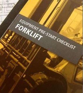 Pre-Start—Forklif