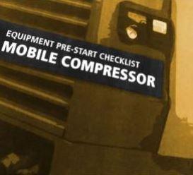 Pre-Start—Mobile Compressor