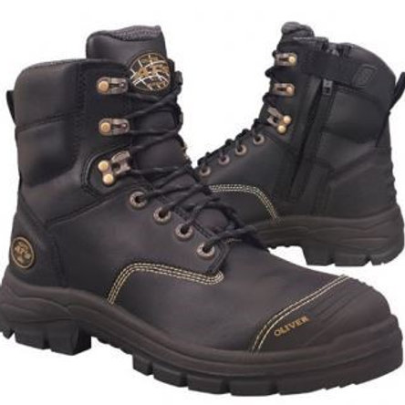 Oliver 55-345 Zip Black-- Sizes 4-14--Half Sizes from 6.5-12.5-